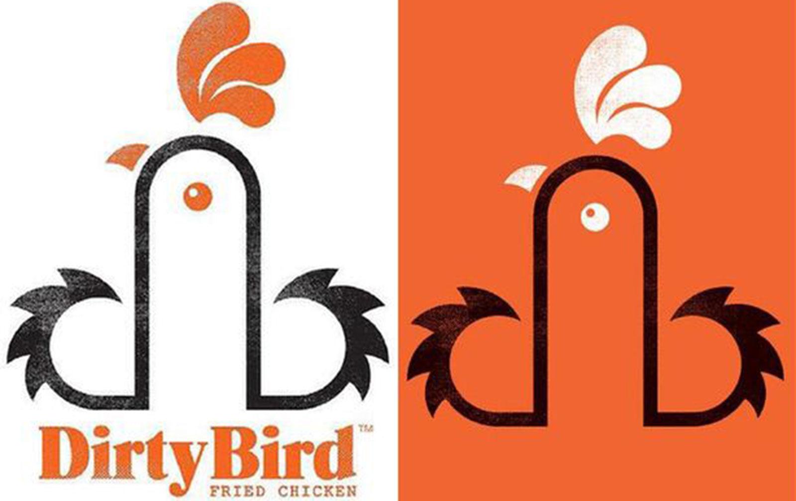 Dirty Bird logo - crude but clever | Blog | Amplify PR